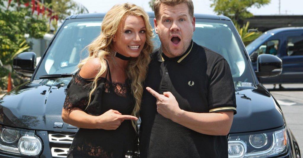 Britney estará en el Carpool Karaoke de James Corden