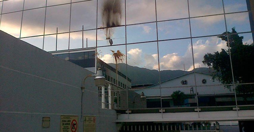 Nuevamente atacaron sede de El Nacional