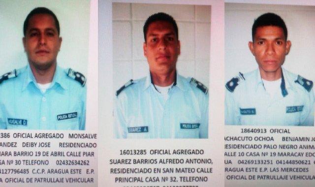 ¡ATENCIÓN! Tres Poliaragua fueron abatidos dentro de una patrulla