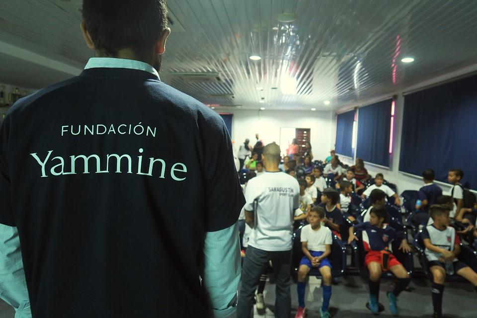 Yammine - Alianza con la escuela RR Sport Club de Futbol en Caricuao