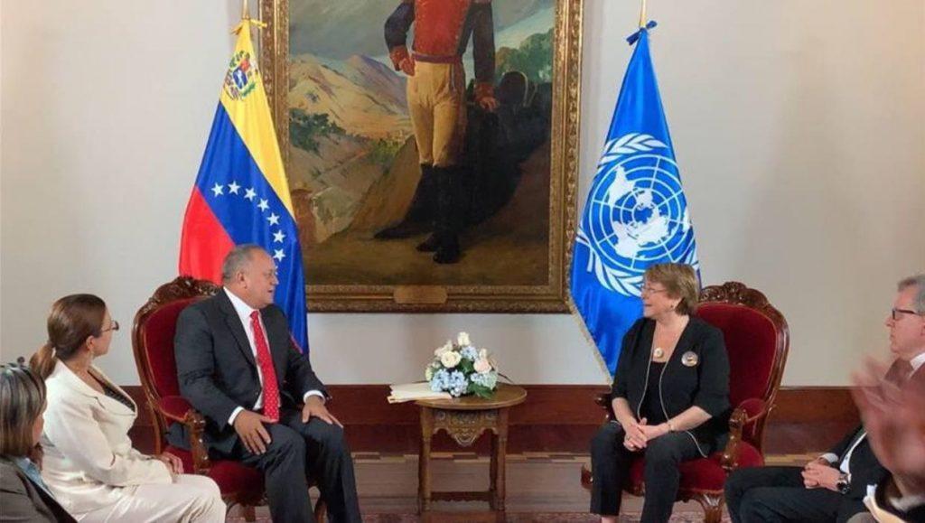 La representante de la ONU también se reunió con el defensor del Pueblo, el presidente del TSJ y el fiscal general de la República