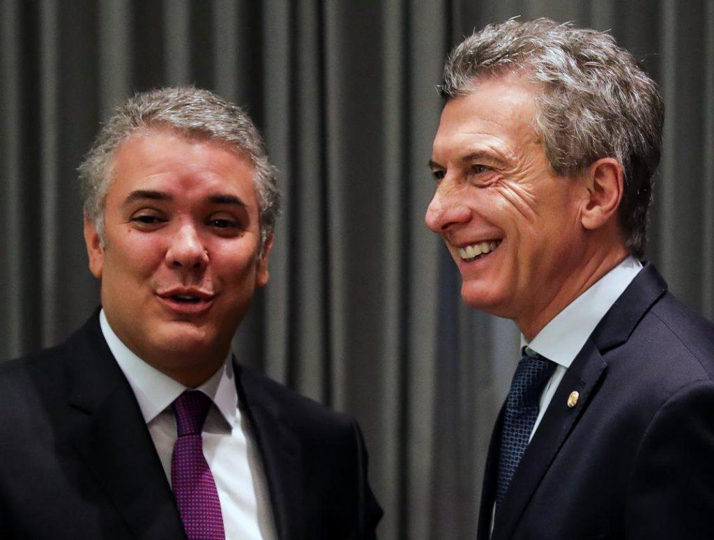 """El mandatario colombiano aseguró que la relación comercial entre Colombia y Venezuela se vio muy deteriorada a causa de la """"dictadura"""""""