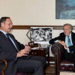 Luis Almagro sostuvo reunión con presidente del TSJ en el exilio