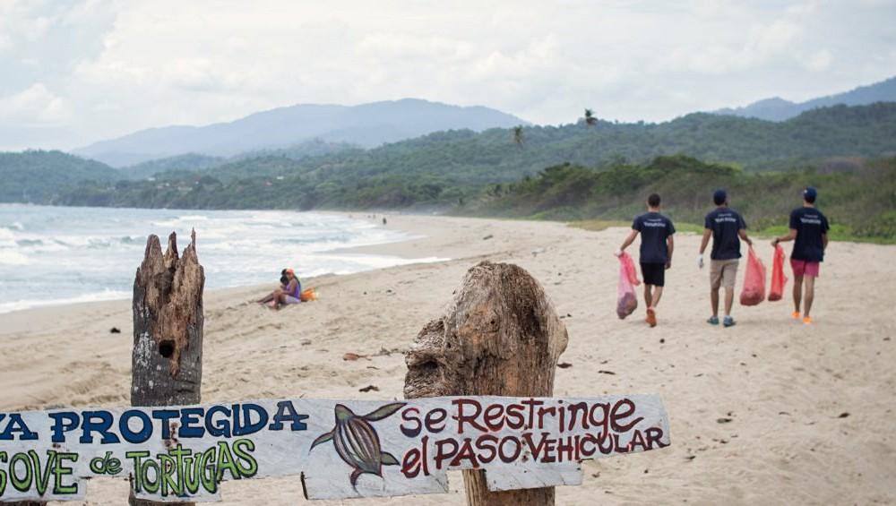 Fundacion Yammine dia de los oceanos limpieza de playas en vargas