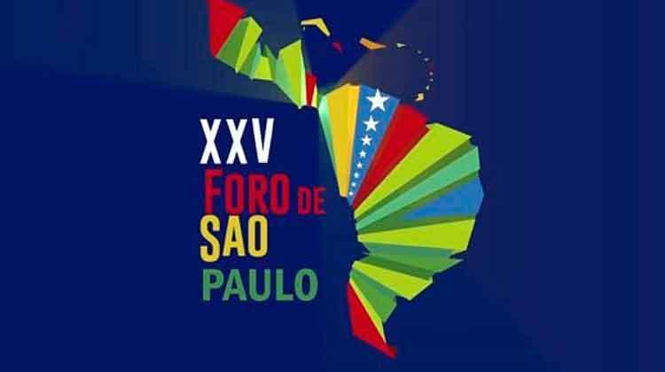 Este jueves inicia en Caracas el XXV Encuentro del Foro de Sao Paulo