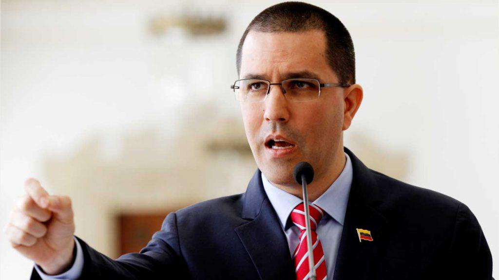A juicio de Arreaza, estas sanciones son utilizadas como mecanismo de extorsión política en el diálogo en Barbados