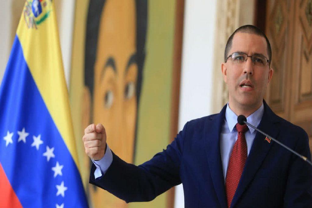 Arreaza también rechazó el nuevo ataque por parte del secretario de Estado de EE.UU. contra las instituciones del Estado