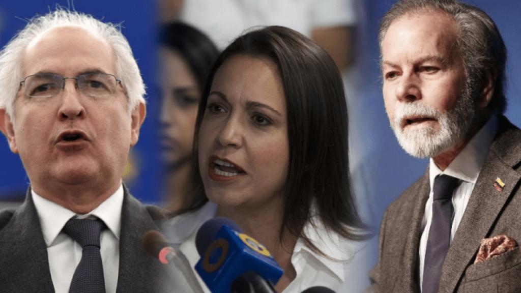 Ledezma, Machado y Arrias concuerdan en que las medidas coercitivas de EE.UU. contra Venezuela propician el cese de la usurpación