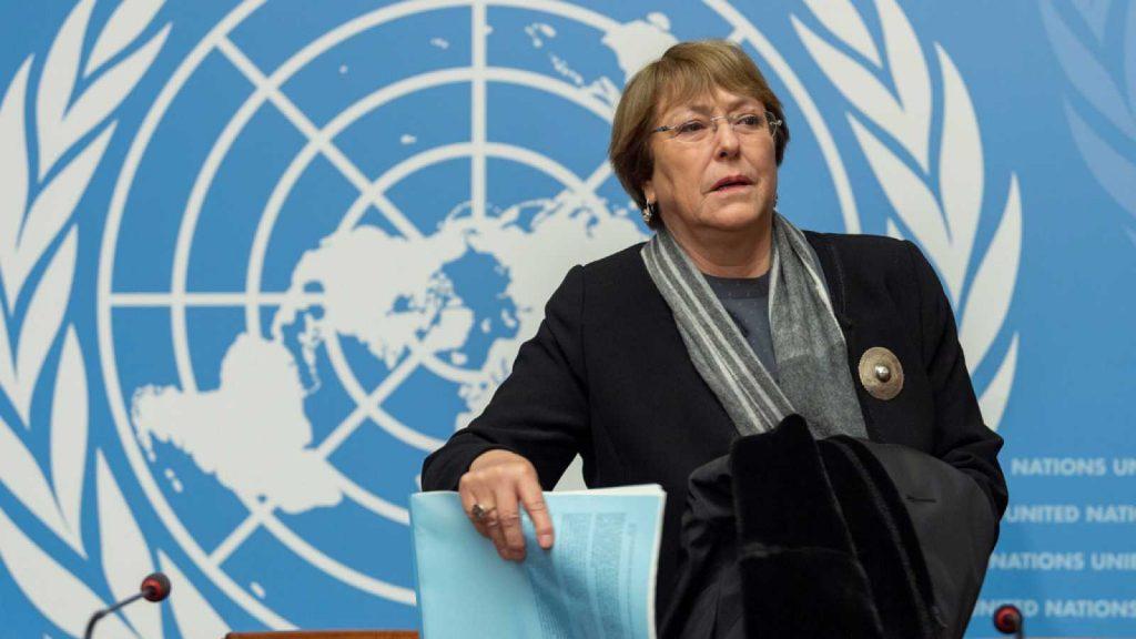 La alta Comisionada instó al mandatario venezolano a permitir la presencia de representantes del organismo en el país