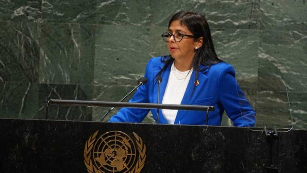 La Vicepresidente rechazó la activación del TIAR contra Venezuela