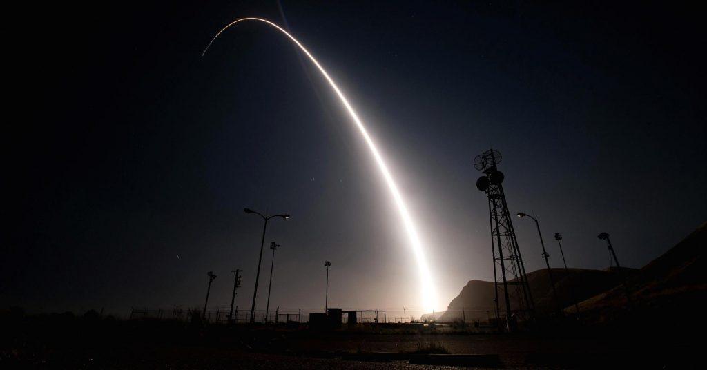 La Fuerza Aérea estadounidense indicó que esta prueba no es en respuesta a eventos o tensiones mundiales actuales