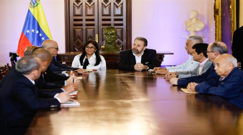 Los representantes de diálogo en Venezuela se mostraron prestos a compartir información con el bloque europeo
