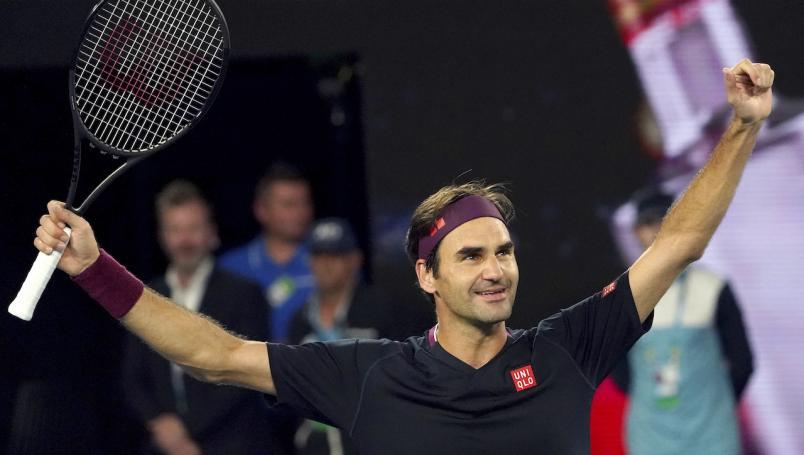 El encuentro se definió en 'tiebreak' del quinto y definitivo set, donde el suizo concreto una sufrida victoria