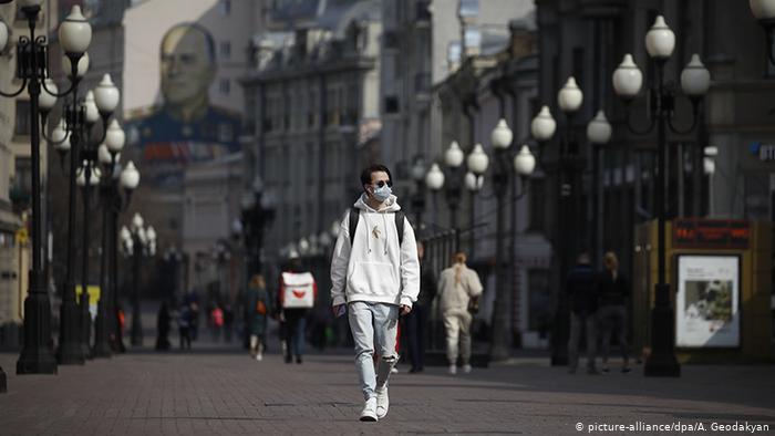 Decretan en Moscú el confinamiento para toda la población