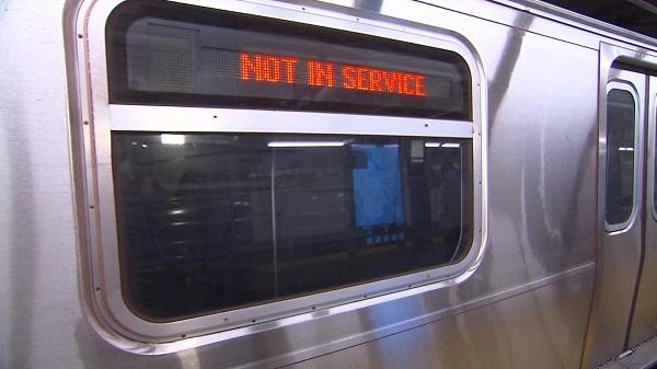 Metro de Nueva York cierra sus puertas