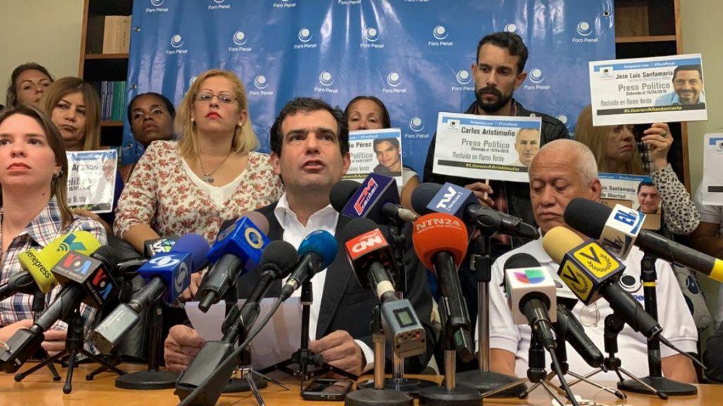 99 detenciones por razones políticas desde la cuarentena