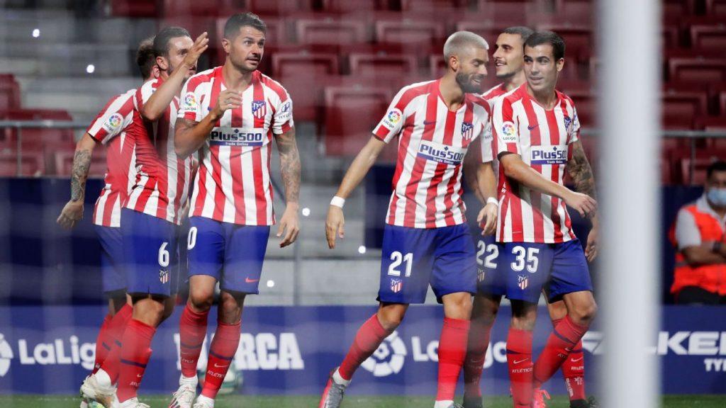 El Atlético de Madrid sufrió para ganar este sábado en su casa por la mínima (1-0) al Valladolid (15º)
