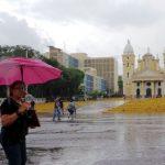 ¡A sacar paraguas! Inameh pronostica lluvias para este jueves en el país