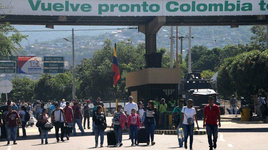 Entrada de Venezolanos desde Colombia fue restringido