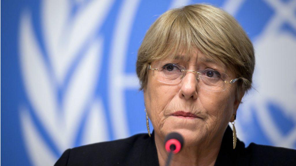 Michelle Bachelet habló sobre Venezuela y la esperanza en el diálogo para superar la crisis