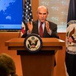 Elliott Abrams reiteró el apoyo de EEUU hacia Juan Guaidó