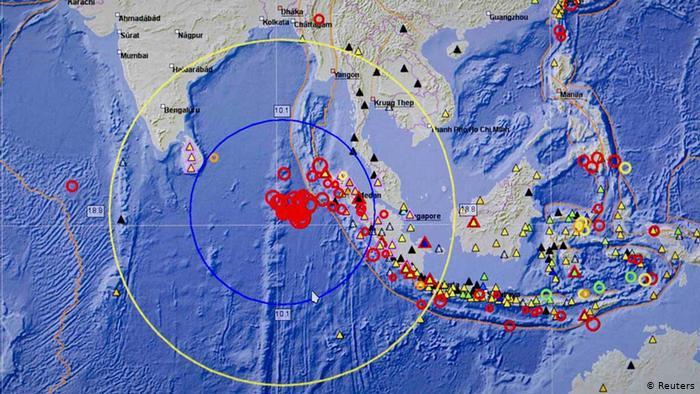 Isla de Sumatra en Indonesia afectada por dos sismos