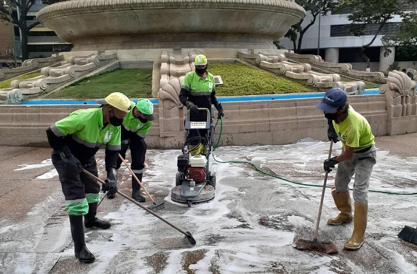 José Simón Elarba - Fospuca completó otra exitosa semana de operativos de limpieza - FOTO