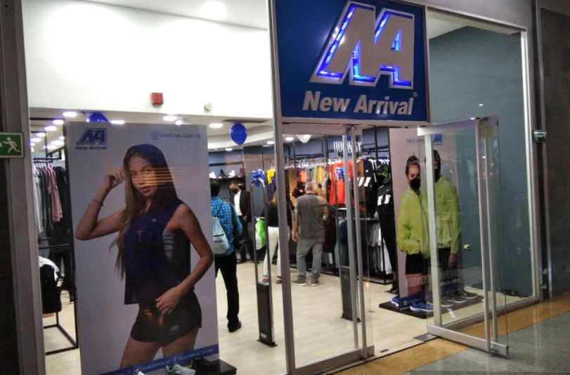 Ronald José Rubio Ampueda - New Arrival inauguró en el Sambil su primera tienda en Caracas - FOTO
