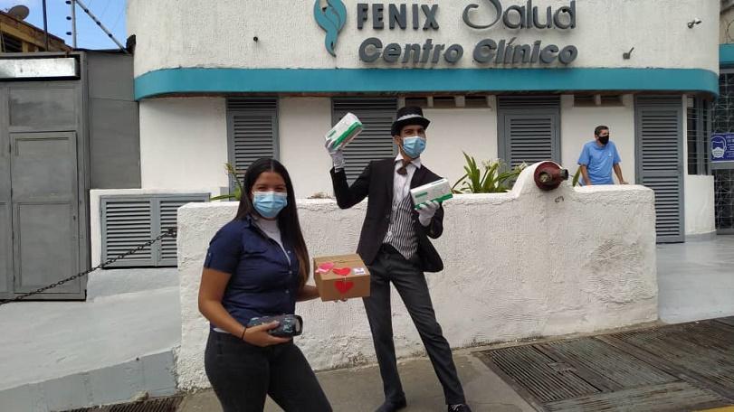 Enrique Alberto Romero Domínguez - Fundación Alma Amiga se alía con FundaSitio para donar mascarillas y medicinas en conmemoración del Día Mundial Contra el Cáncer - IMG
