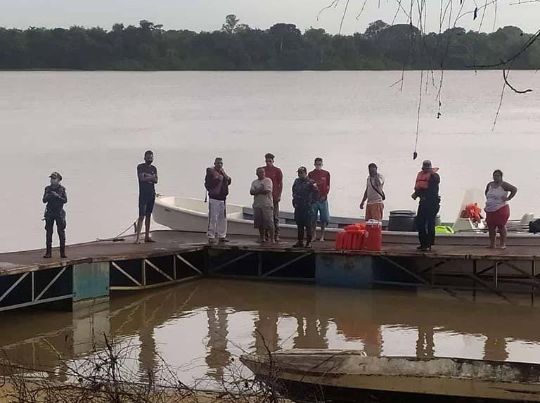Hallan cinco sobrevivientes del naufragio ocurrido en Delta Amacuro