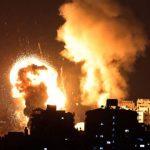 20 palestinos mueren en el contraataque israelí sobre la Franja de Gaza