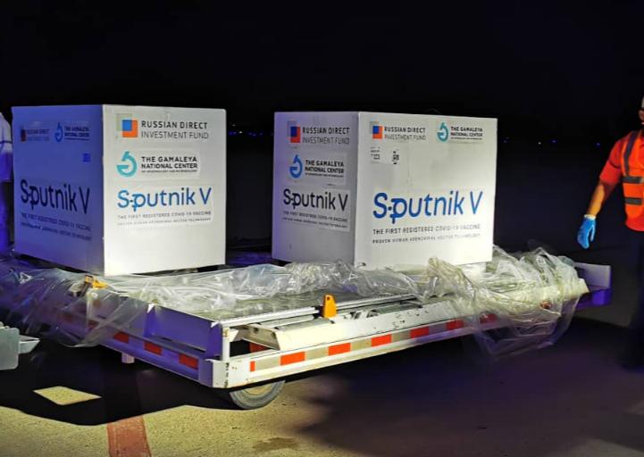 Venezuela recibió nuevo cargamento con vacunas Sputnik V