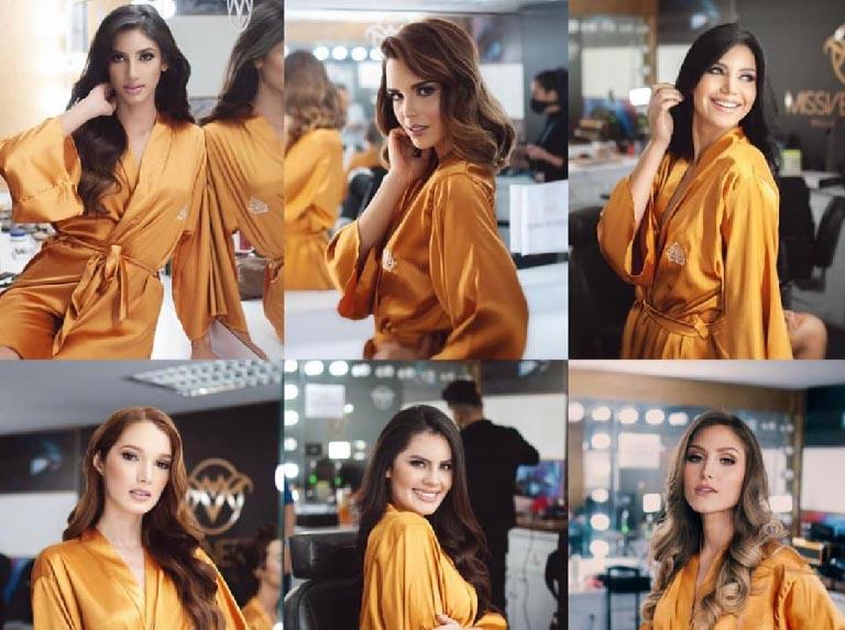 Asignación de bands a candidatas del Miss Venezuela
