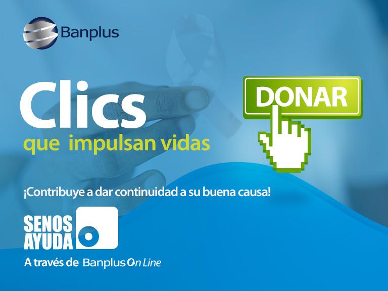 Diego Ricol - Banplus, impulsando vidas a través de un clic a favor de SenosAyuda - FOTO