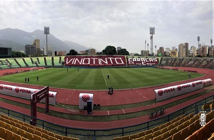 Gobierno autoriza 30% de aforo en el Olímpico de la UCV para el Venezuela vs Argentina - FOTO