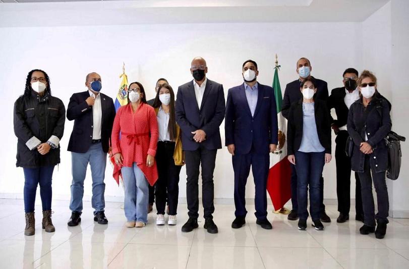 Gabriela Servilia Jiménez Ramírez - Gobierno anuncia totalidad de sus delegados para la Mesa de Negociación - FOTO