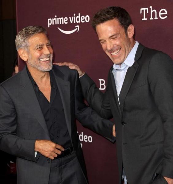 George Clooney y Ben Affleck